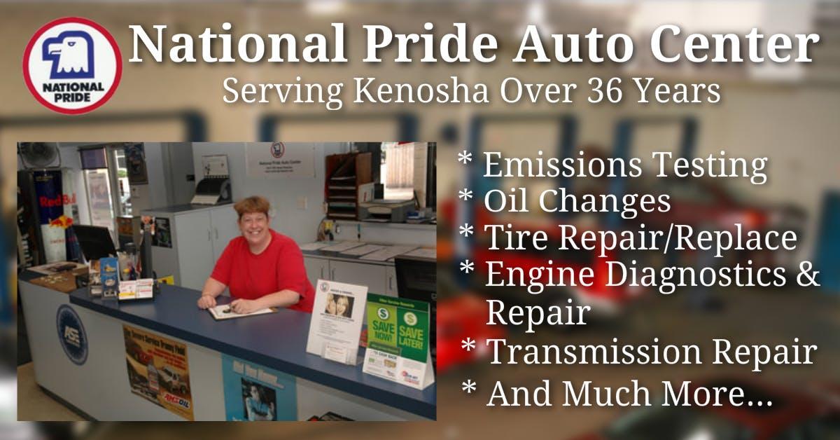 Emission Test Kenosha >> Kenosha S Best Auto Repair Center National Pride Auto