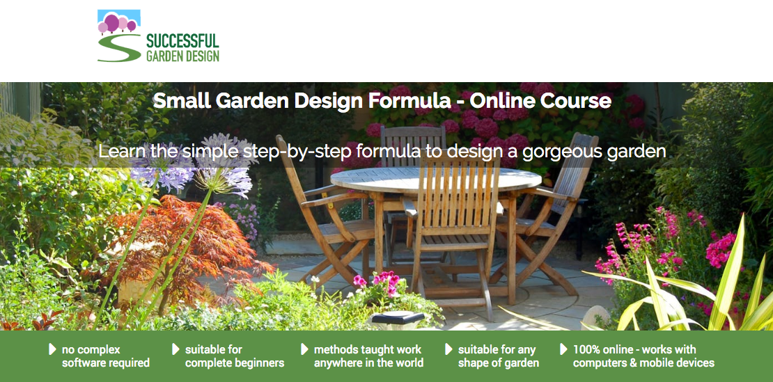 Small Garden Design Course Online